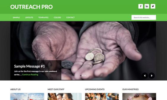 Hjemmeside Design - Waimea Outreach