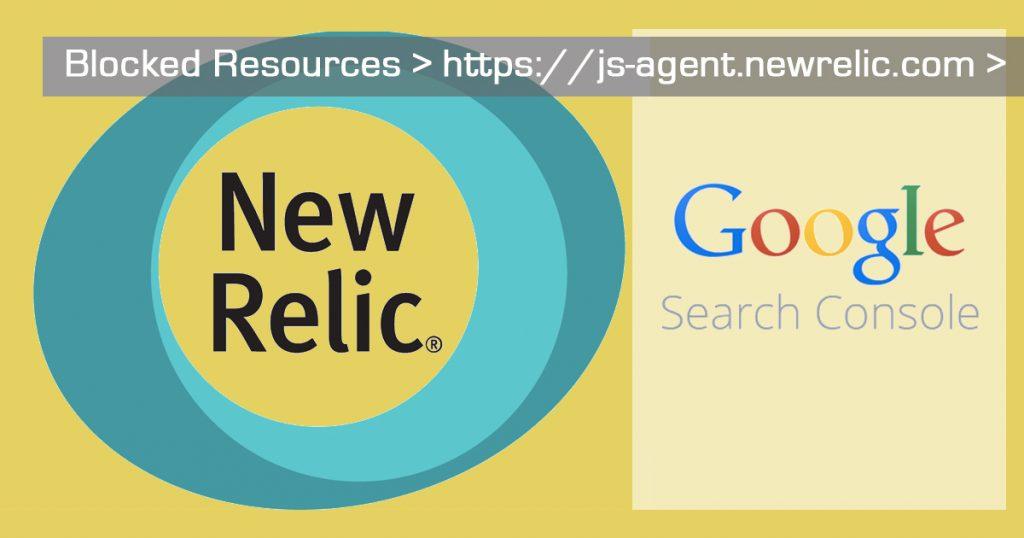 Newrelic blocking Google