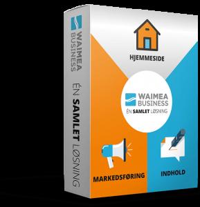 Waimea Business - samlet hjemmeside løsning