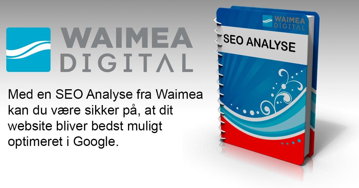 SEO Analyse - en drejebog til optimering af dit website