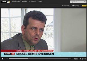 Mikkel deMib Svendsen - DR Nyheder. EU monopolsag mod Google.