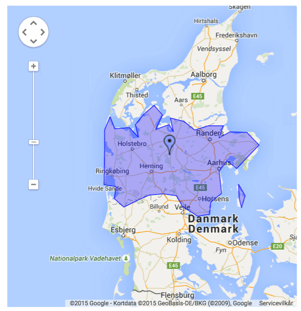 AdWords geografisk målretning