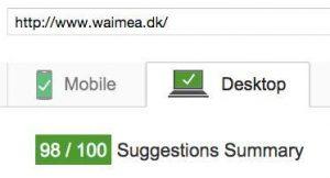 Waimea PageSpeed