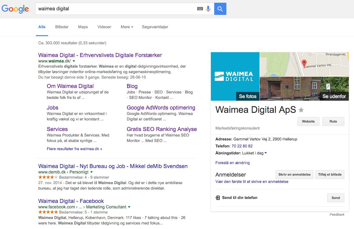Waimea Business - Google MyBusiness