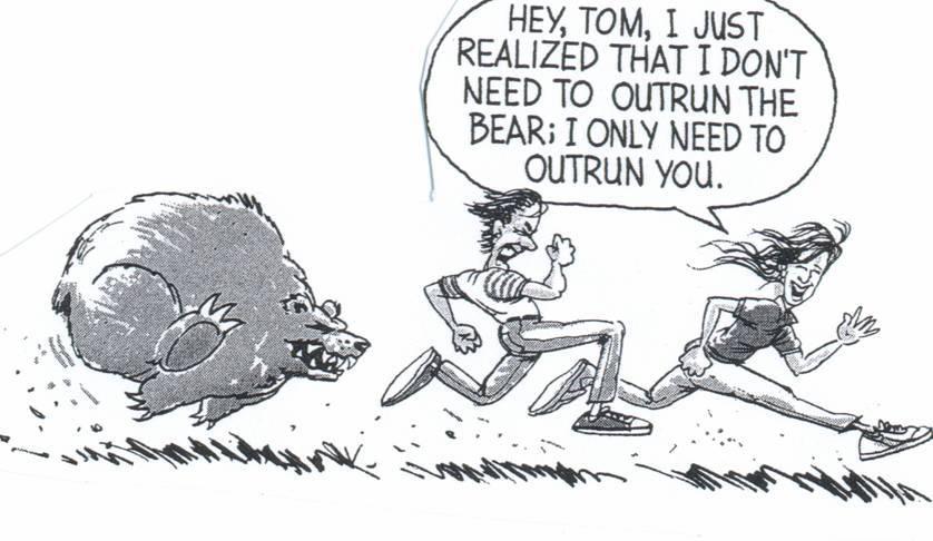 Løb fra bjørnen