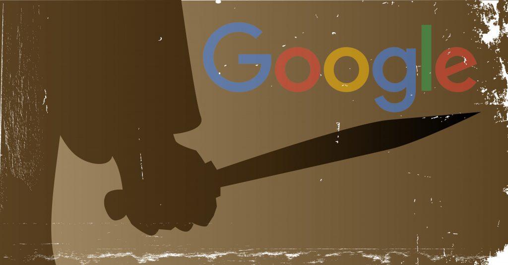Google presser de organiske søge-resultater endnu længere ned