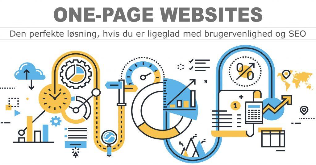 One-Page Websites er ikke godt for brugervenlighed og SEO