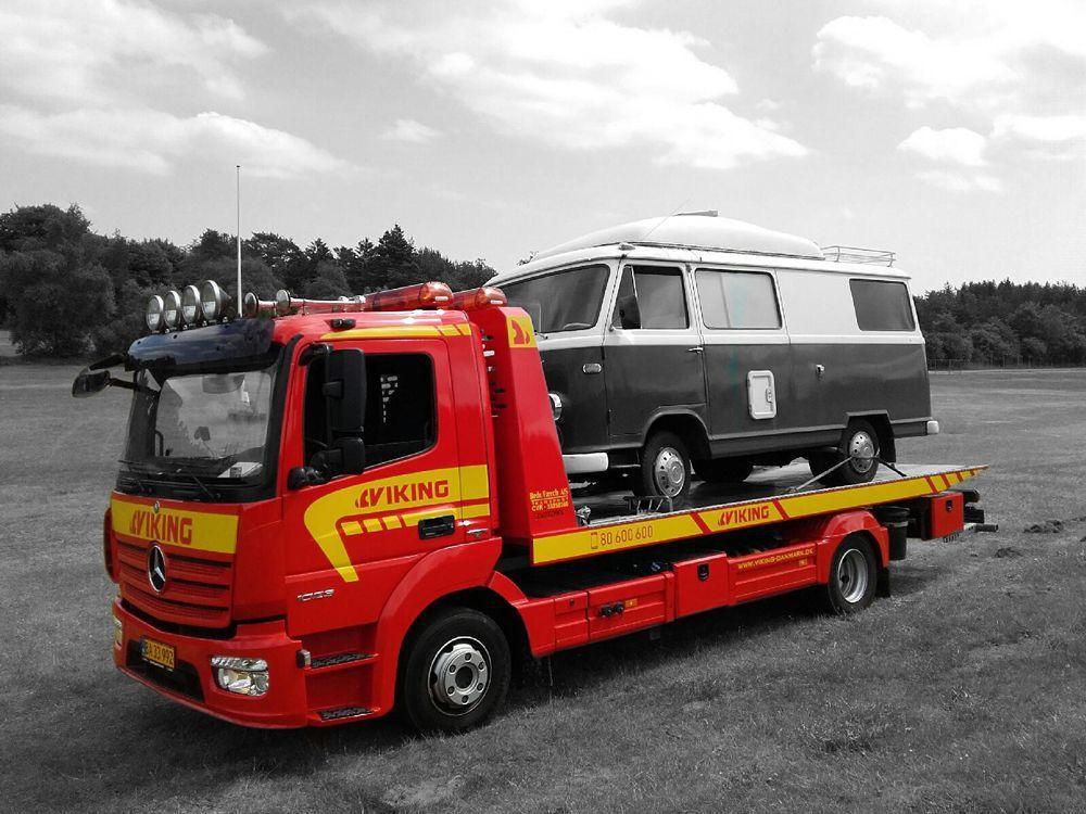 Viking Assistance Autohjælp transporter