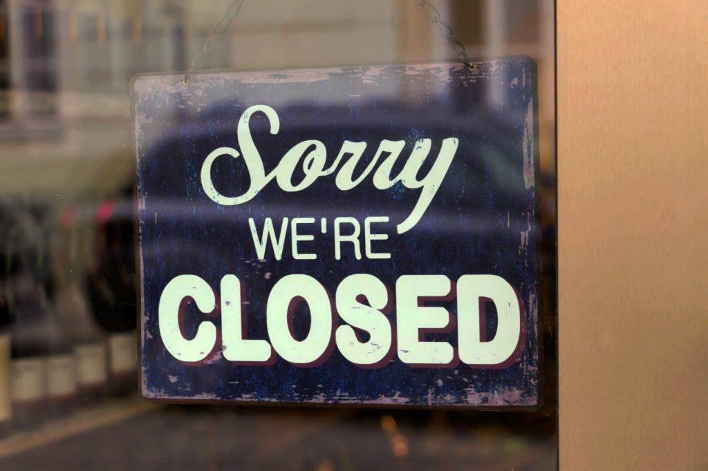 Er din butik lukket for kunder?