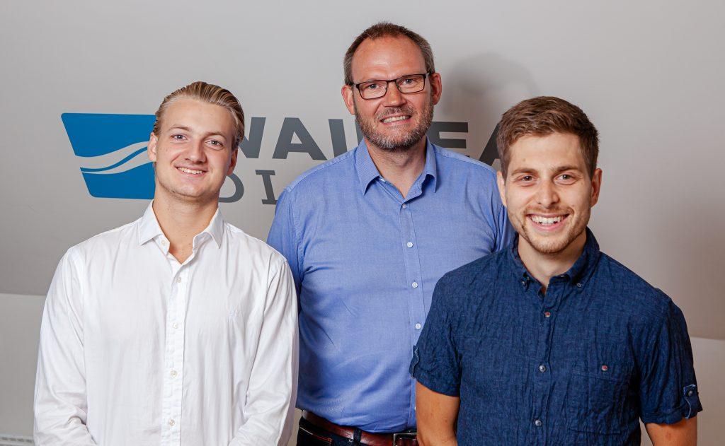 Niklas Zingler Jensen, Henrik Schousboe og Robert Olvhøj