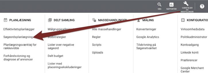 google-ads-keyword-planner-adgang