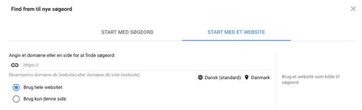 keyword-planner-start-med-soegeord