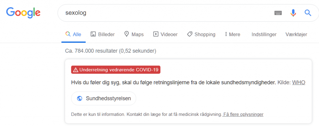 google-corona-sexolog