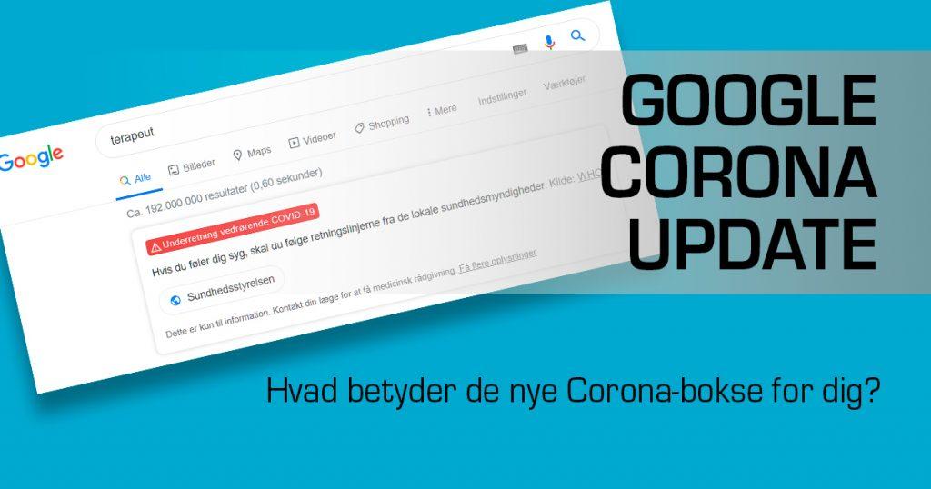 google-corona-update