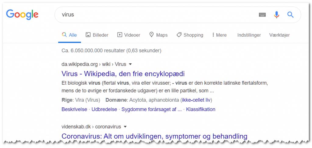 google-corona-virus