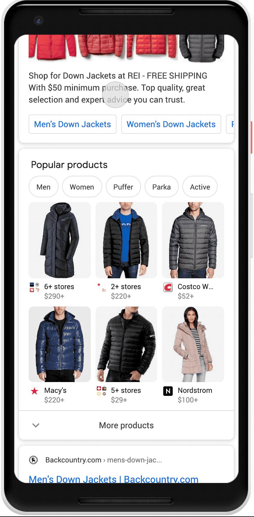 Populære-produkter-søgning