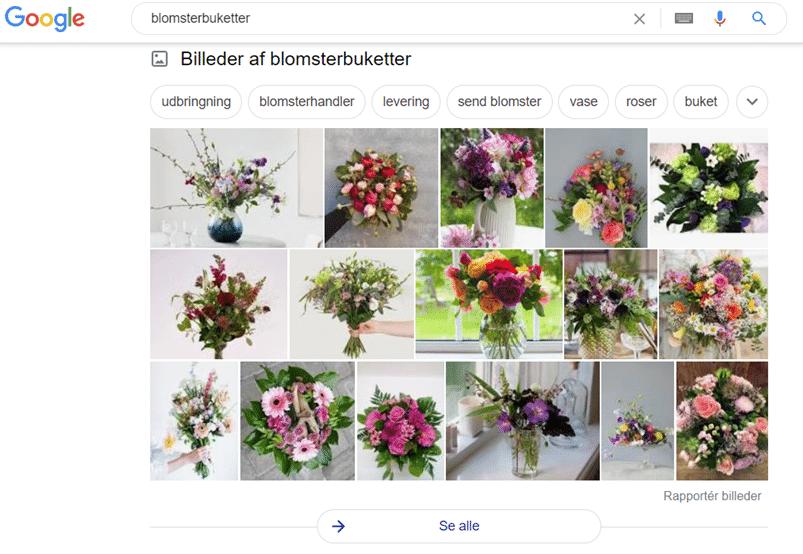 Søgning på: Blomsterbuketter